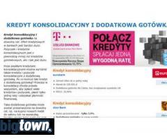 Konsolidacja kredytowa - banki i oferty kredytowe